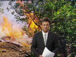 Vožnja kroz požar (Video: Vijesti u 17h / Facebook: Vatrogasci/ heroji )