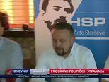 Programi političkih stranaka (Video: Dnevnik Nove TV)