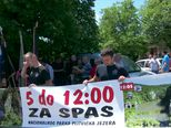 Ugrožene Plitvice (Video: Dnevnik Nove TV)