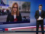 Student Hrvatskih studija o blokadi (Video: Vijesti u 17 h)