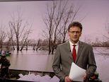 Vodostaj Save u Jasenovcu veći od 920 metara (Video: Vijesti u 17h)
