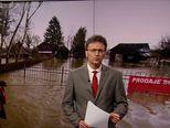 Poplavljena i okolica Siska (Video: Vijesti u 17h)