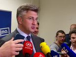 Andrej Plenković nakon sjednice Predsjedništva HDZ-a (Video: Dnevnik.hr)