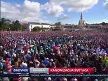 Kanonizacija svetaca (Video: Dnevnik Nove TV)