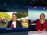Ivana Pezo Moskaljov s ministrom Krstičevićem Video: Dnevnik Nove TV)