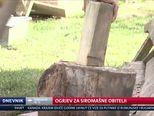 Ogrjev za siromašne obitelji (Video: Dnevnik Nove TV)