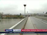 Montažna ograda protiv poplave (Video: Dnevnik Nove TV)