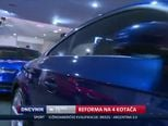 Reforma na četiri kotača (Video: Dnevnik Nove TV)