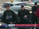 Splitski taksisti blokirali Cammeo (Video: Dnevnik Nove TV)
