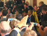 Ellen se rasplakala (VIDEO: Reuters)