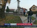 Sveta Klara neće Rome (Video: Dnevnik Nove TV)