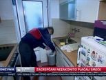 Zagrepčani nezakonito plaćali smeće (Video: Dnevnik Nove TV)