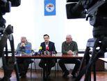 Sindikat TŽV Gredelj održao konferenciju za medije (Foto: Zeljko Lukunic/Pixsell)