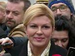 Kolinda Grabar-Kitarović u zengama (Video: Dnevnik.hr)