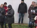 Srdačan susret Plenkovića i Grabar Kitarović (Video: Dnevnik Nove TV)