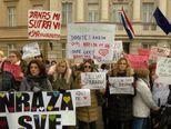 Prosvjed udruge Kolibrići i Koalicije udruga u zdravstvu (VIdeo: Dnevnik.hr)