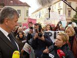 Baka oboljelog unuka se raspalaka pred ministrom (Video: Dnevnik.hr)