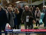 Gužve na grobljima uoči blagdala Svih svetih (Video: Dnevnik Nove TV)