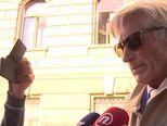 Horvatinčić nakon suđenja (Video: Dnevnik.hr)