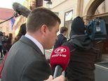 Sabina Tandara Knezović i Oleg Butković prvi put (Video: Dnevnik.hr)