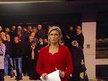 Prosvjedna kolona radnika Dalmacijavina (Video: Vijesti u 17h)