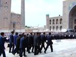 Sprovod Islama Karimova (Video: Reuters)