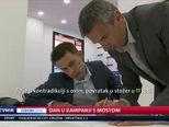 Dan u kampanji s Mostom (Video: Dnevnik Nove TV)