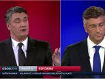 Svađa Milanovića i Plenkovića (Video: Dnevnik.hr)