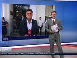 Dolazak Petrova u sjedište HDZ-a (Video: Vijesti u 17 h)