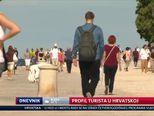 Profil turista u Hrvatskoj (Video: Dnevnik Nove TV)