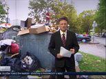 Zagreb pun smeća (Video: Vijesti u 17 h)