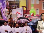 Euharistijsko slavlje u svetištu Predragocjene krvi Kristove u Ludbregu  (Video: Vijesti u 17h)