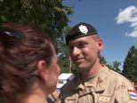 S Plesa ispraćeni vojnici u Afganistan (Video: Vijesti u 17h)