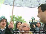 Državni vrh u obilasku poplavljenog (Video: Dnevnik Nove TV)