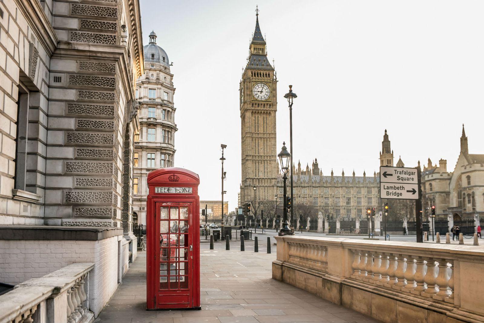 čudan izlazak iz Londona