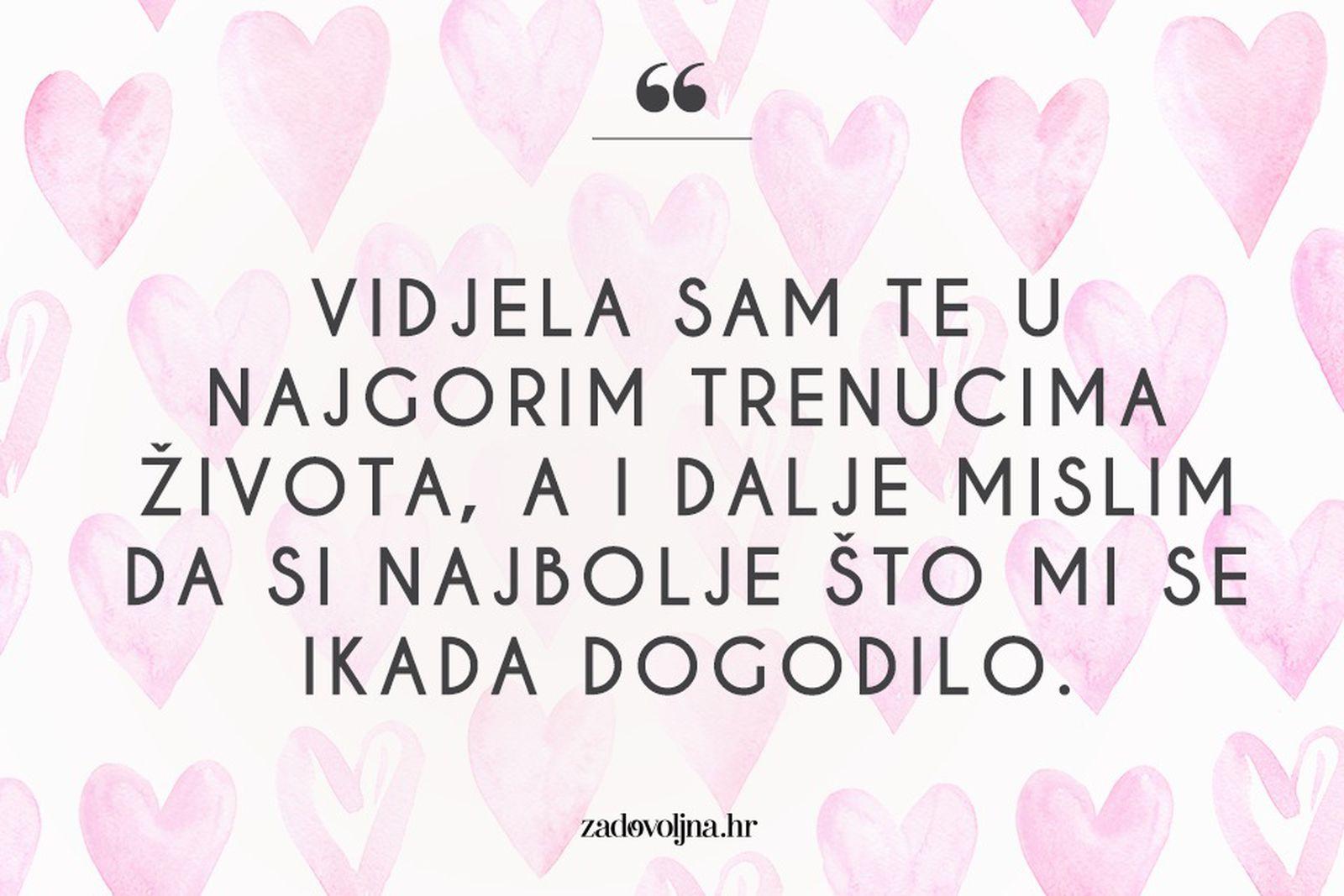 Ljubavni citati volim te