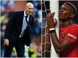 Paul Pogba i Zinedine Zidane