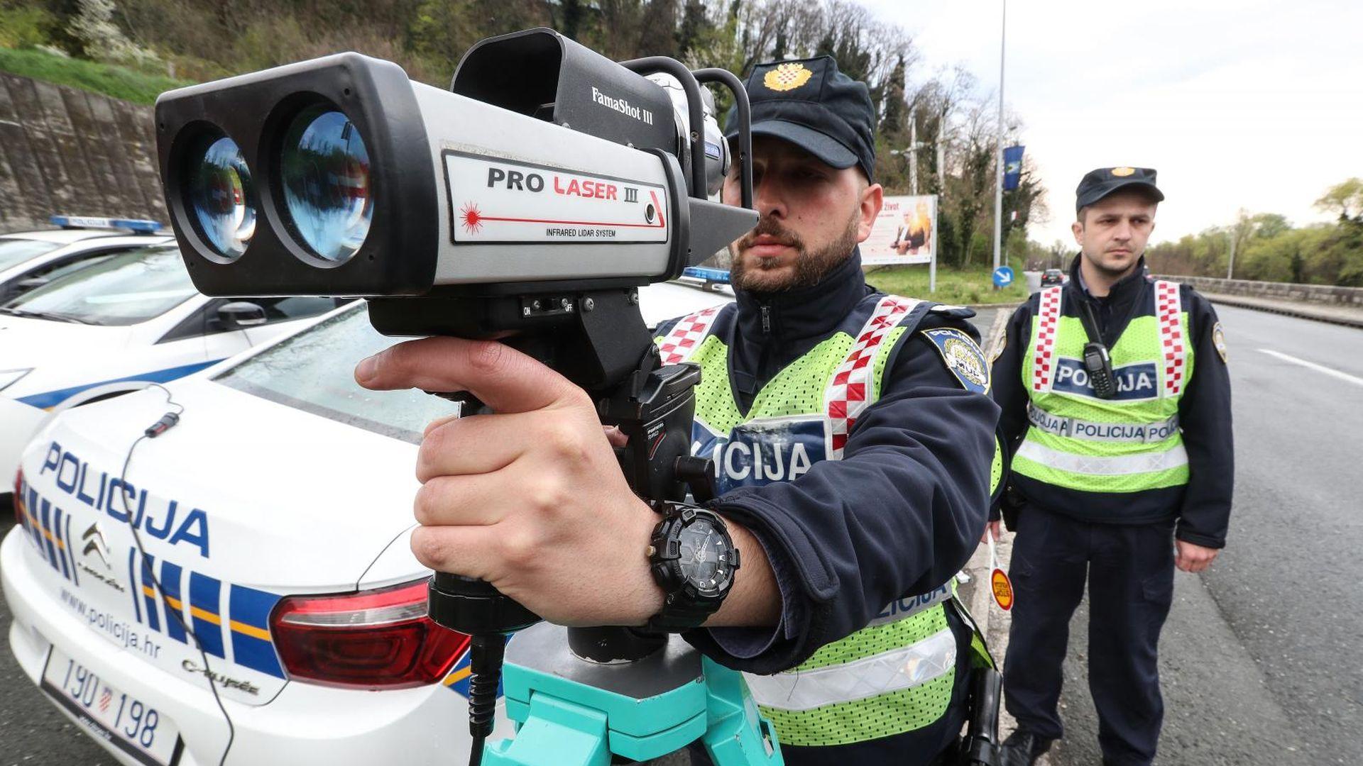 Web stranica za policijske izlaske