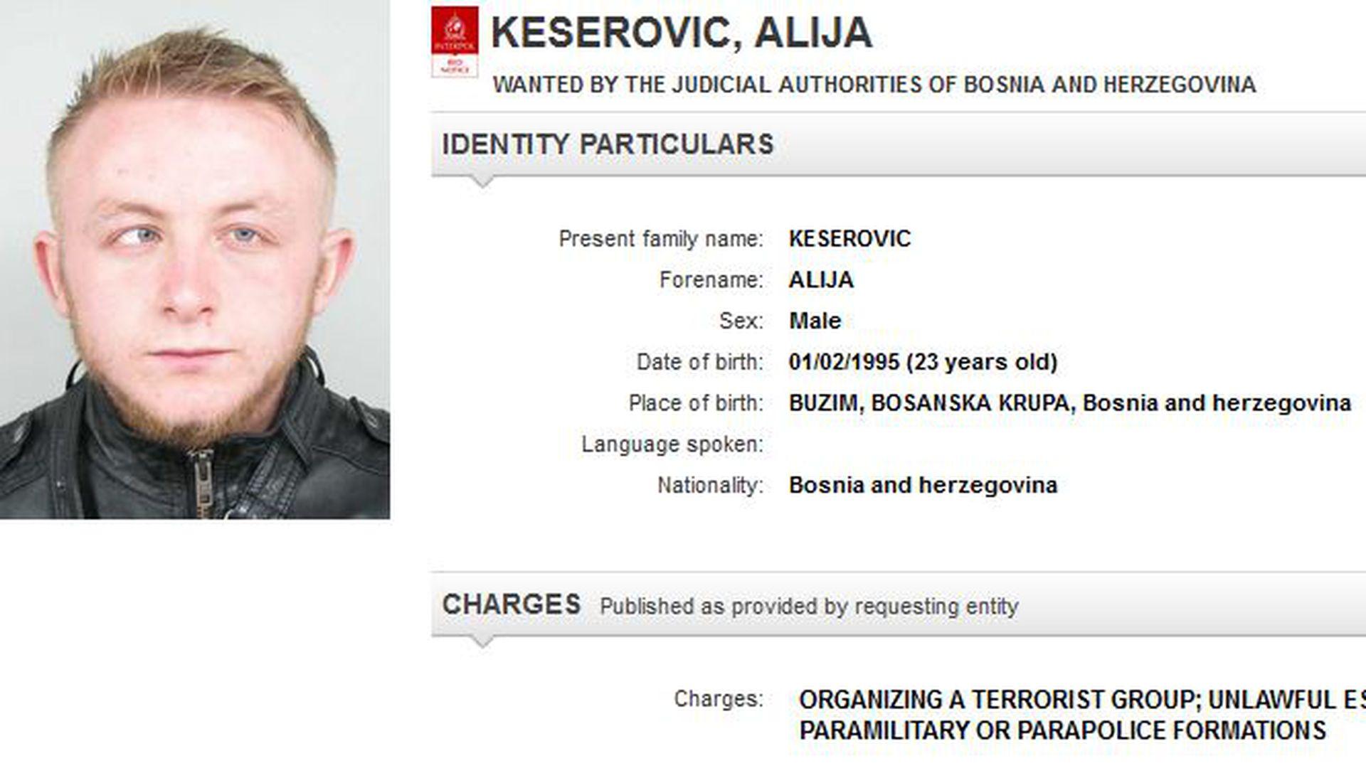 Interpol raspisao crvenu tjeralicu za državljaninom iz BiH