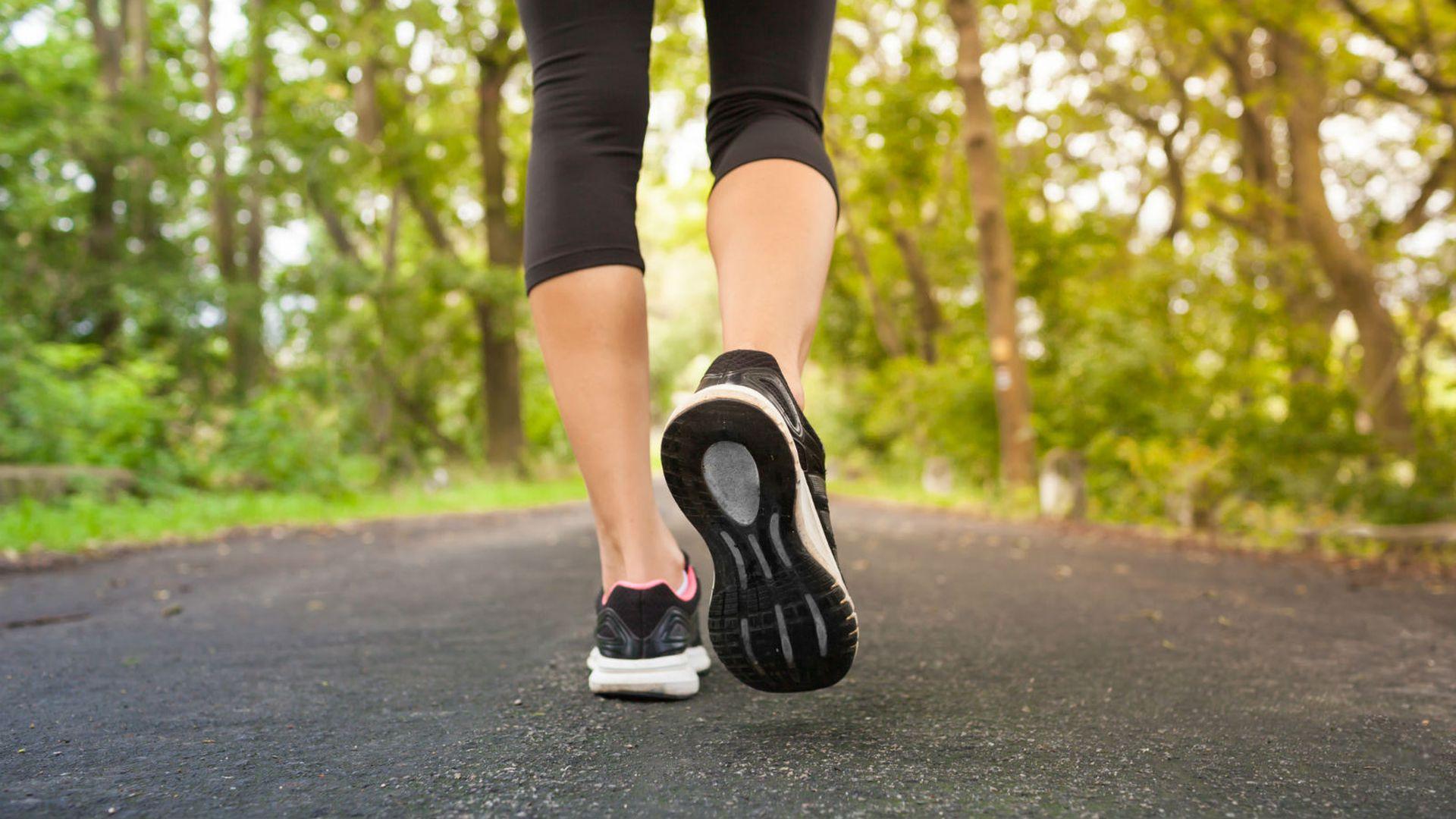 hodanje i skidanje kilograma