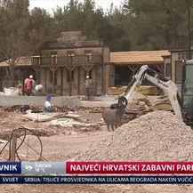Najveći hrvatski zabavni park niče u Biogradu (Video: Dnevnik Nove TV)