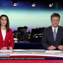 Andrija Jarak uživo ispred sjedišta Agrokora (Video: Dnevnik Nove TV)