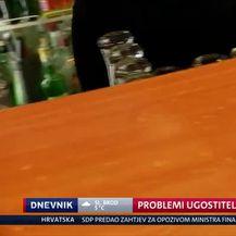 Problemi ugostitelja (Video: Dnevnik Nove TV)