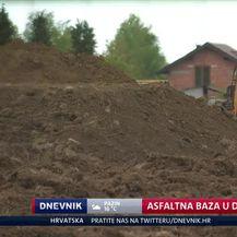 Asfaltna baza u Donjoj Lomnici (Video: Dnevnik Nove TV)