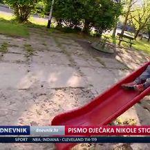 Pismo dječaka Nikole stiglo do njegovih uzora (Video: Dnevnik Nove TV)