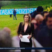 Prosvjed u Jasenovcu (Video: Vijesti u 17h)