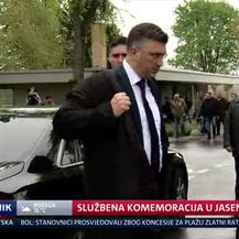 Službena komemoracija u Jasenovcu (Video: Dnevnik Nove TV)