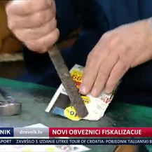 Novi obveznici fiskalizacije (Video: Dnevnik Nove TV)