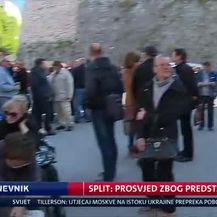Split: Prosvjed zbog predstave (Video: Dnevnik Nove TV)