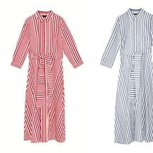 Prugaste haljine brenda Zara iz prošlogodišnjih kolekcija